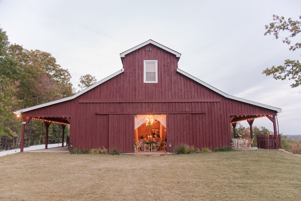 Becky and Mike's Classic Fall Wedding at The Barn at Tatum Acres, North Georgia Barn Wedding Venue, Georgia Fall Wedding, Twinkle Lights Wedding