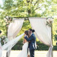 The Dreamiest Barn Wedding with the Prettiest Details // Demi + Matt