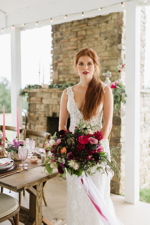 Berry Tones and Copper Accents, Styled Shoot, Berry Wedding, North Georgia Wedding, Mountain Wedding, Wedding Color Scheme, Berry Color Scheme, The Barn at Tatum Acres
